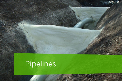 Industrial Insulation Services - Pipelines