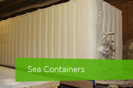Industrial Insulation Services - Sea Containers